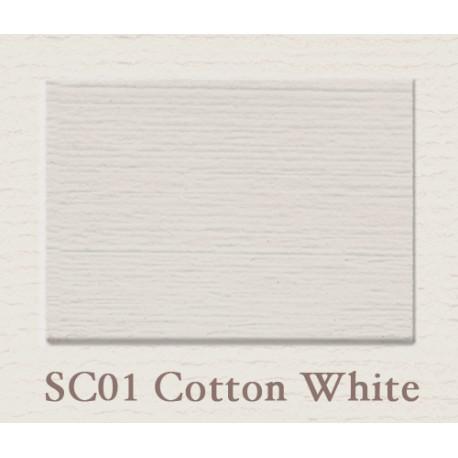 Wandfarbe 'Cotton White' Emulsion 2500 ml
