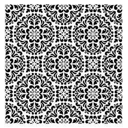 Schablone Kaleidoscope