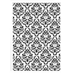 Schablone Victorian Wallpaper